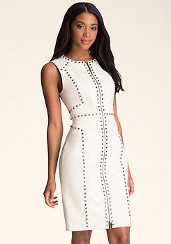 Ari Studded Dress at bebe