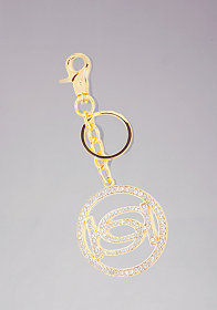 bebe Interlocking Logo Keychain