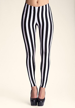 bebe Stripe Legging
