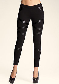bebe Linear Legging