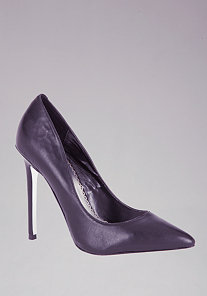 Sarah Classic Leather Pumps at bebe