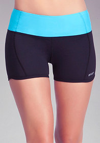 Colorblock Shorts - BEBE SPORT at bebe