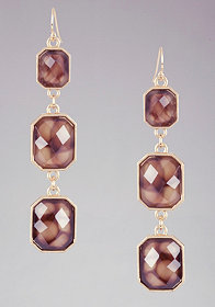 bebe Geometric Drop Earring