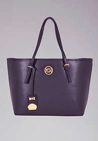 bebe Beverly Hills Leather Tote