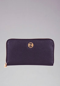 bebe Beverly Hills Leather Wallet