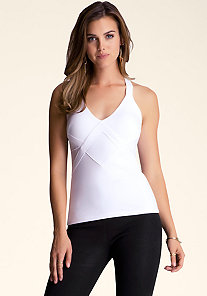 Mesh Insert Cami at bebe