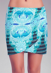 Deco Paisley Tulip Skirt at bebe