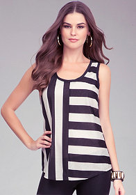 bebe Stripe Tunic