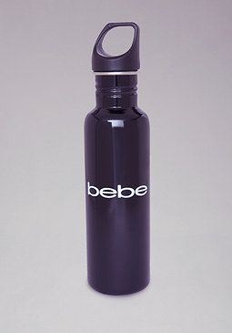 Stainless Steel Logo Water Bottle at bebe