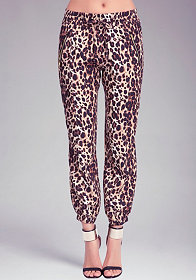 Leopard Soft Pant at bebe
