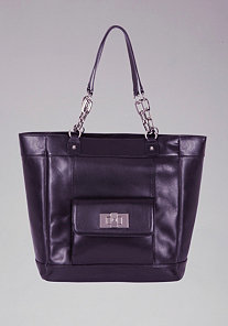 Newport Leather Tote at bebe