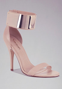 Jacqueline Metal Cuff Sandals at bebe