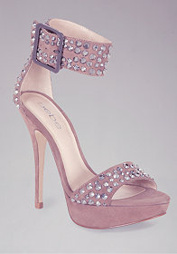 Tonya Embellished Sandals at bebe