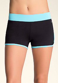 bebe Colorblock Running Shorts - BEBE SPORT ONLINE EXCLUSIVE