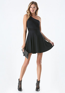 Fit & Flare Dress at bebe