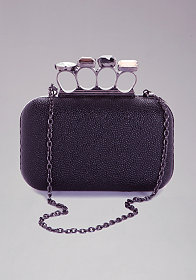 bebe Jewel Ring Minaudiere