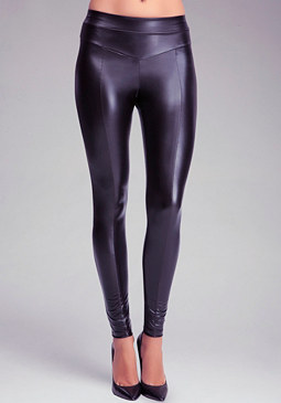 bebe V Yoke Wet Legging