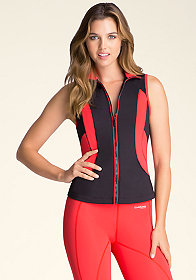 Logo Colorblock Vest at bebe