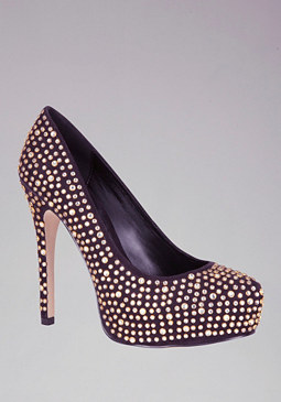 bebe Savannah Studded Pumps