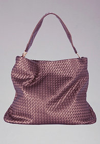 Signature Woven Hobo at bebe