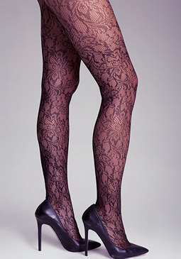 bebe Open Lace Tights