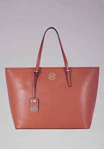 Large Beverly Hills Leather Tote at bebe