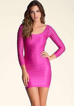 bebe Ellie Shine Dress