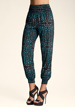 High Waist Soft Pants at bebe