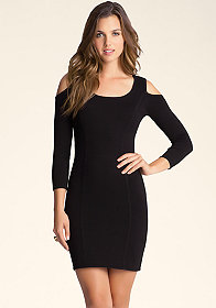 bebe Cold Shoulder Dress