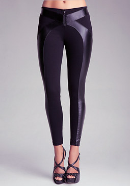 bebe Criss Cross Leggings