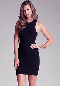 bebe Sleeveless Knit Dress