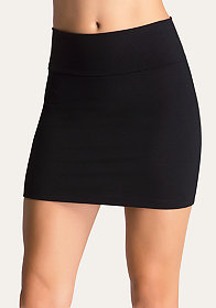 High Waist Mini Skirt at bebe