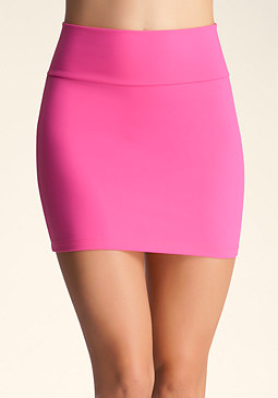 High Waist Miniskirt at bebe