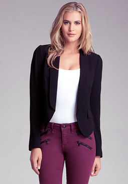 bebe Pleated Blazer