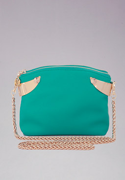 bebe Harlow Hardware Crossbody