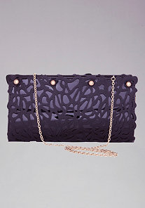 Lasercut Clutch at bebe