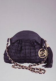 bebe Dominique Quilted Crossbody
