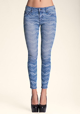 bebe Tropical Tide Skinny����