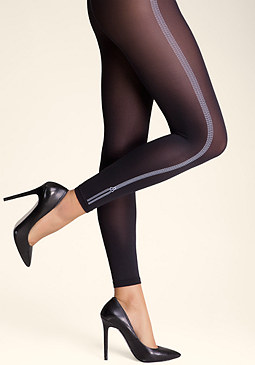 bebe Faux Zipper Leggings