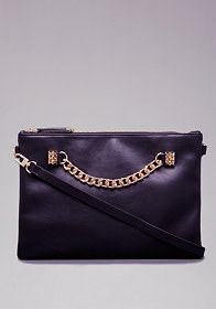 bebe Tessa Chain Clutch
