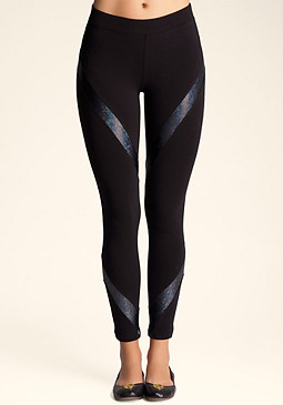 Twist Stripe Legging at bebe