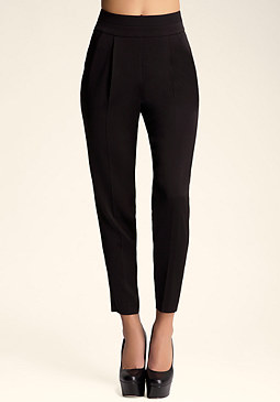 bebe Matte and Shine Crop Pant