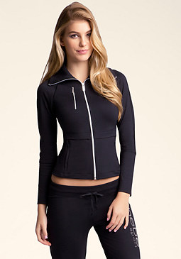 bebe bebe Sport Ribbed Jacket