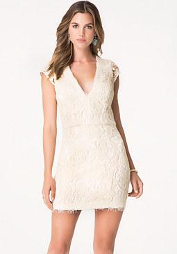 bebe Oliver Lace Dress