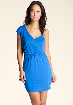 bebe Stella Liquid Jersey Dress