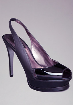 bebe Zahara Peep Toe Pumps