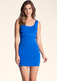 bebe Scoop Neck Tank Dress