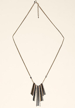 bebe Mixed Metal Necklace