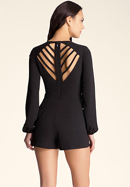 Peek A Boo Romper at bebe