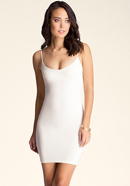bebe V Neck Cami Dress